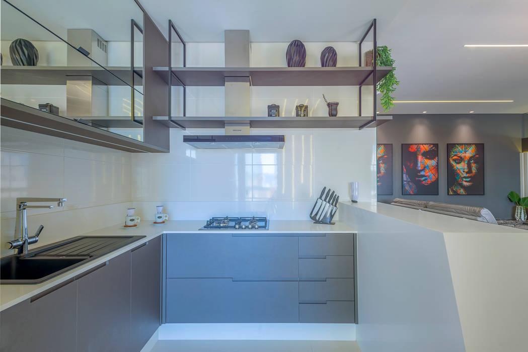 Cozinha Studio Diego Duracenski Interiores Cozinhas modernas