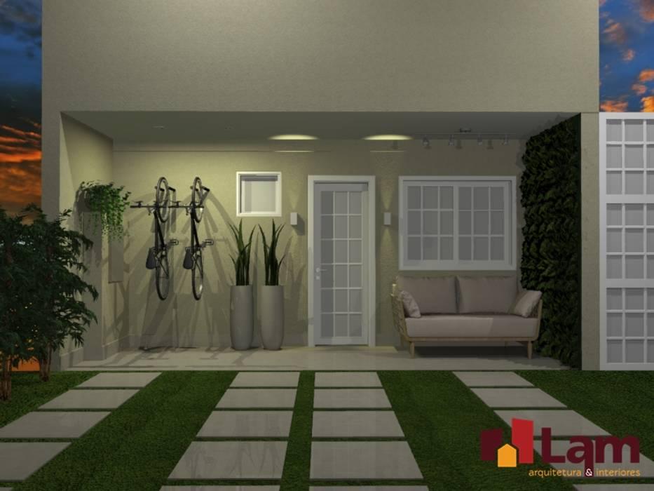 Residência Flamboyant - Santo André Garagens e edículas modernas por LAM Arquitetura   Interiores Moderno