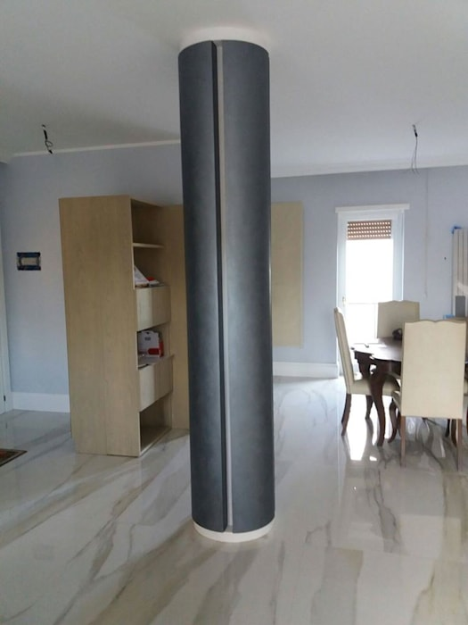 Arte Design & Colore Modern living room Metallic/Silver