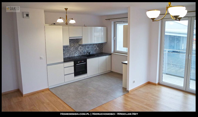Salon w mieszkaniu - styl skandynawski od Nieruchomosci-Wroclaw.Net Skandynawski