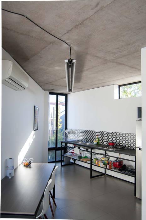 Cocineta de Arquitectura Avanzada Minimalista Metal