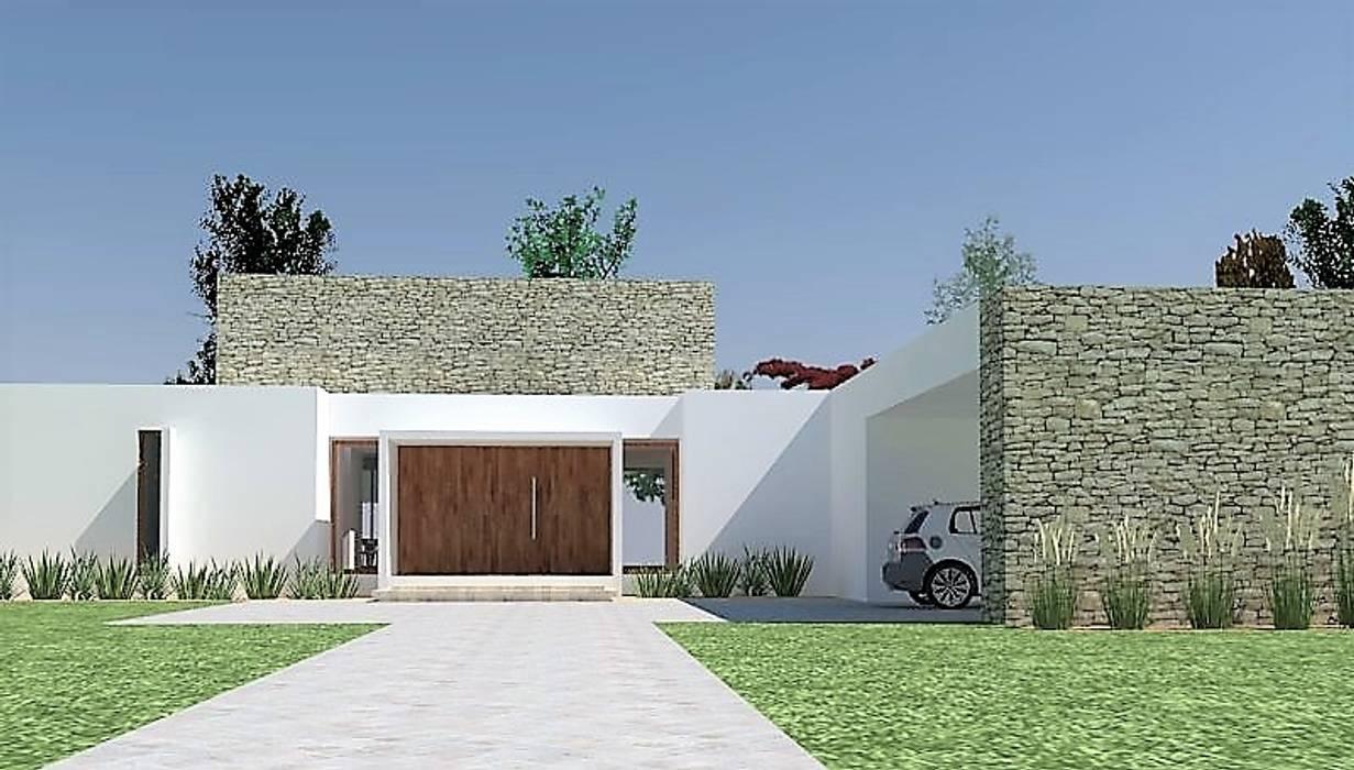 IMAGEN 3D CASA PROYECTO de Martin Rojas Arquitectos Asoc. Moderno