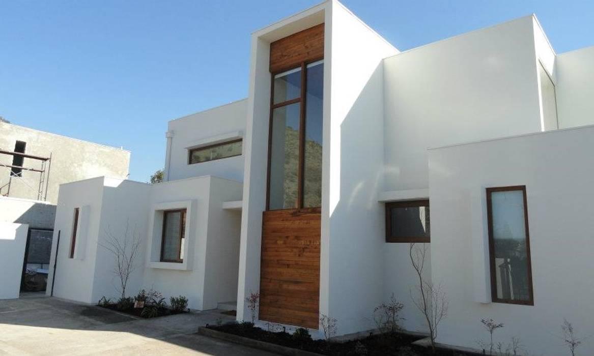 DETALLE CAJA DE ESCALA Martin Rojas Arquitectos Asoc. Chalets Concreto