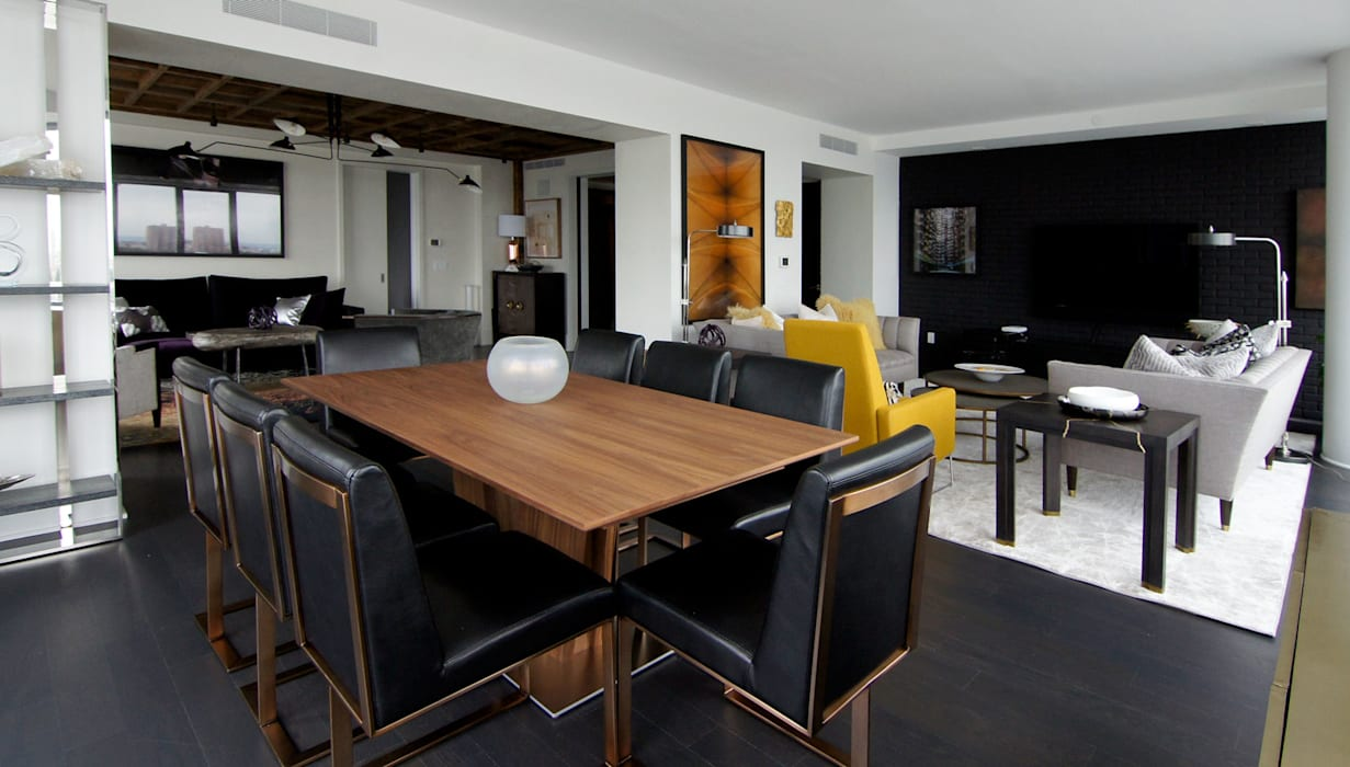 Modern dining room by Ward 5 Design Modern