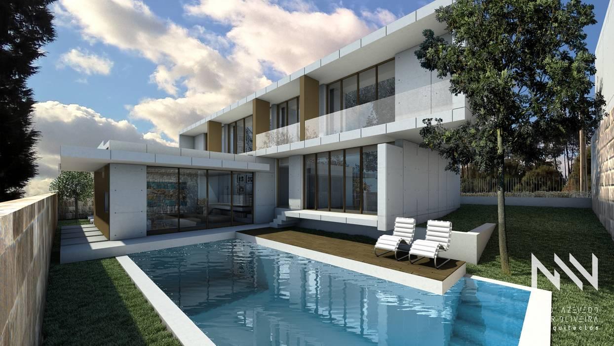 Habitação QE IF L1 Piscinas modernas por ARTEQUITECTOS Moderno