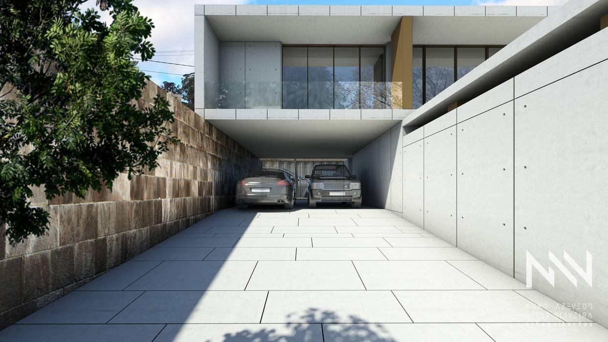Habitação QE IF L1 Garagens e arrecadações modernas por ARTEQUITECTOS Moderno