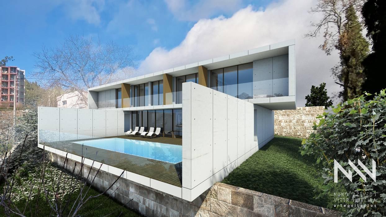 Moderne Pools von ARTEQUITECTOS Modern
