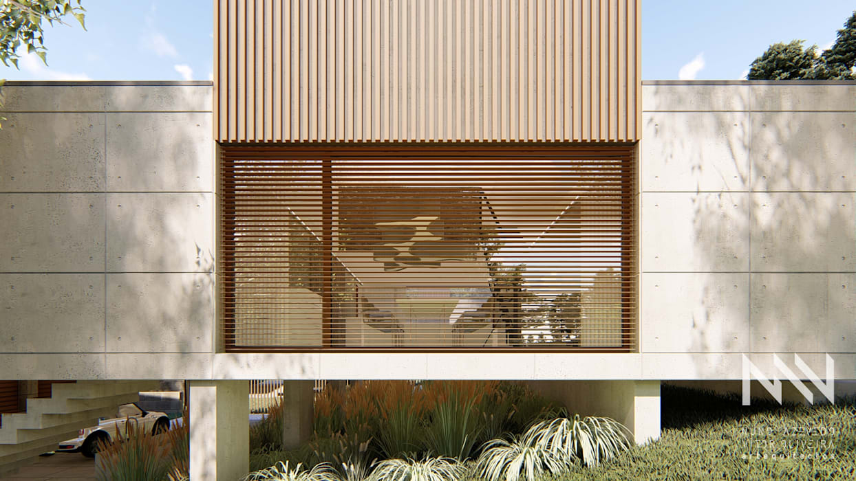Modern Windows and Doors by ARTEQUITECTOS Modern