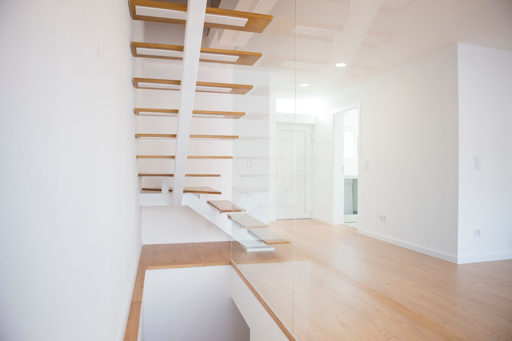 Decor-in, Lda Stairs Wood White