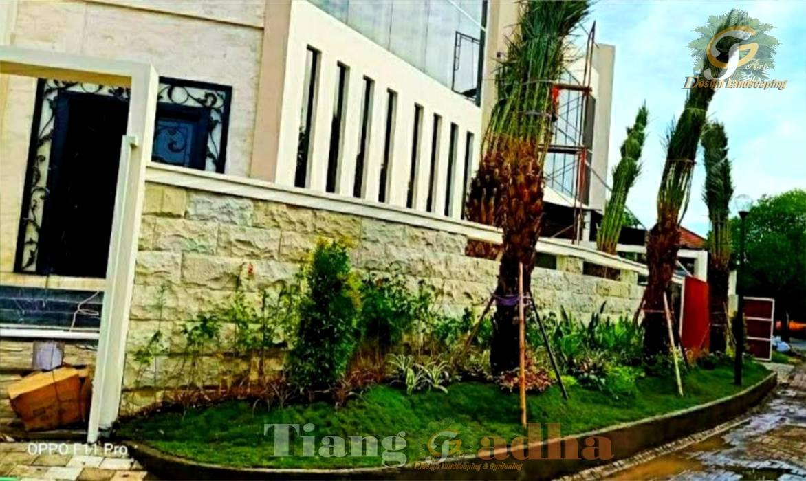 Jasa Pembuat Taman Sidoarjo Oleh Tukang Taman Surabaya - Tianggadha-art Minimalis Batu
