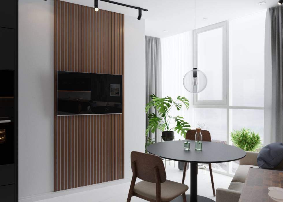 Minimalist style kitchen by Postolake Minimalist Marble