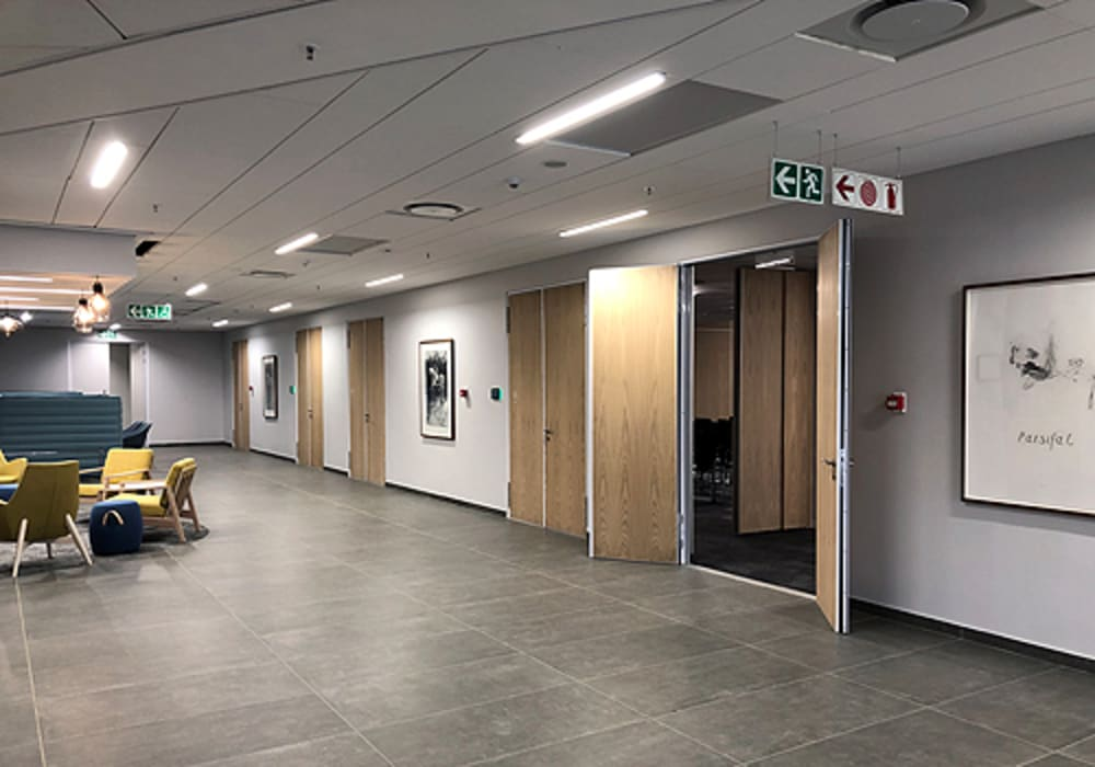 Varikust® acoustic doors by Aluglass Bautech (Pty) Limited Classic Wood Wood effect