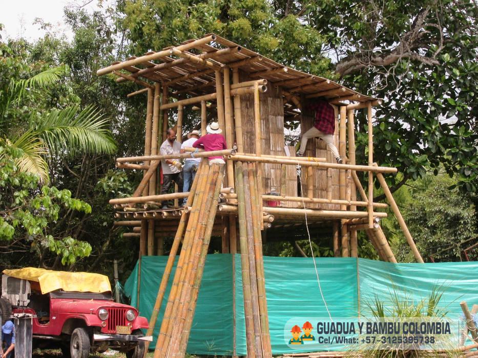 CURSO DE CONSTRUCCION CON GUADUA GUADUA Y BAMBU COLOMBIA Casas campestres
