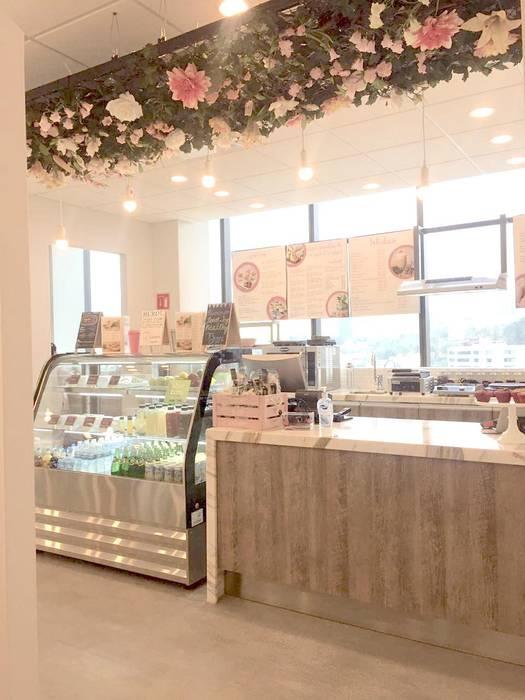 DE LEON PRO Kantor & Toko Modern Pink