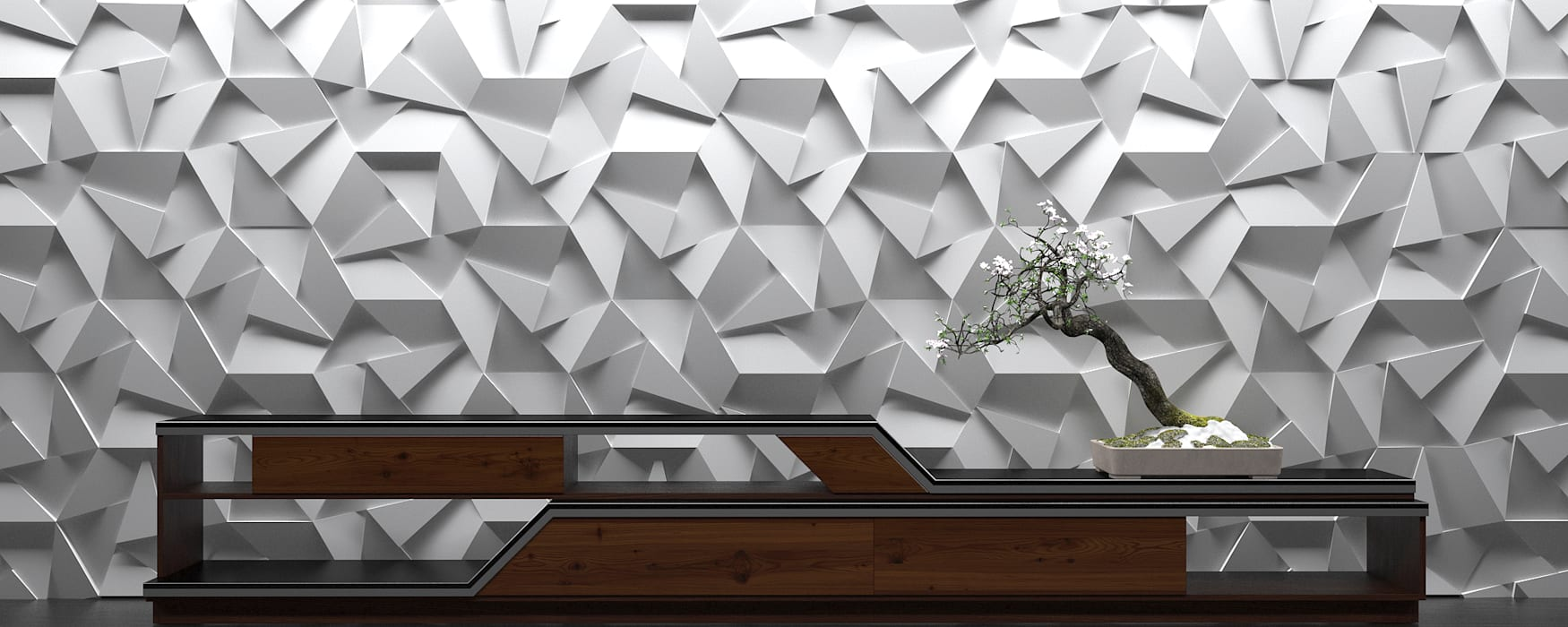 ZICARO - producent paneli 3D Walls & flooringWall tattoos Keramik Grey