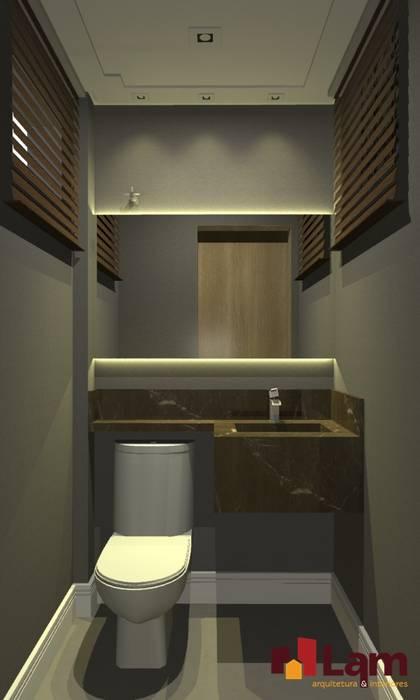 Escritório Pet Shop - Dogs Day Banheiros modernos por LAM Arquitetura   Interiores Moderno