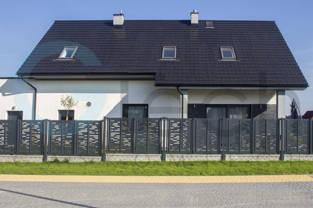 Gaskomtech Single family home Metal Grey