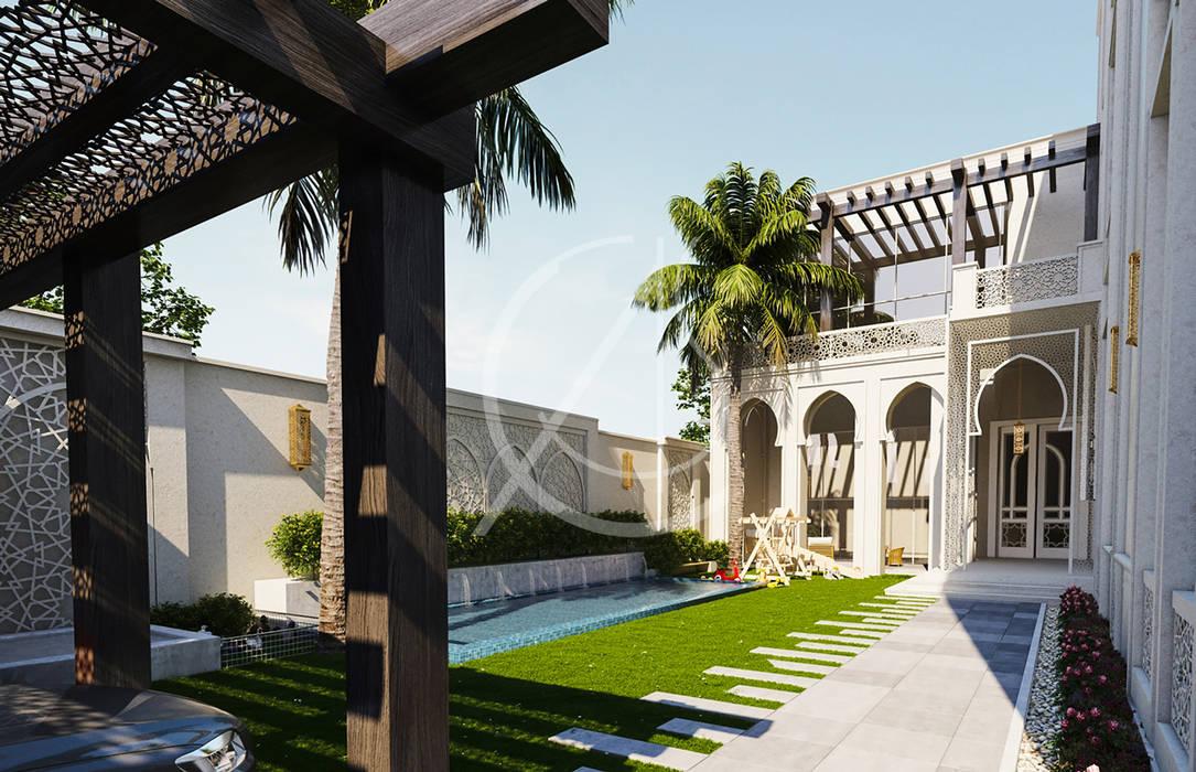 Modern Islamic Private Villa by Comelite Architecture, Structure and Interior Design Modern