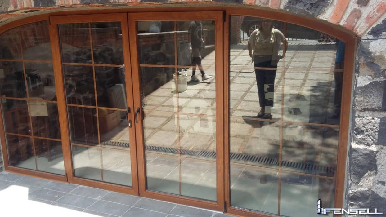 FENSELL Windows & doorsDoors Plastic Amber/Gold