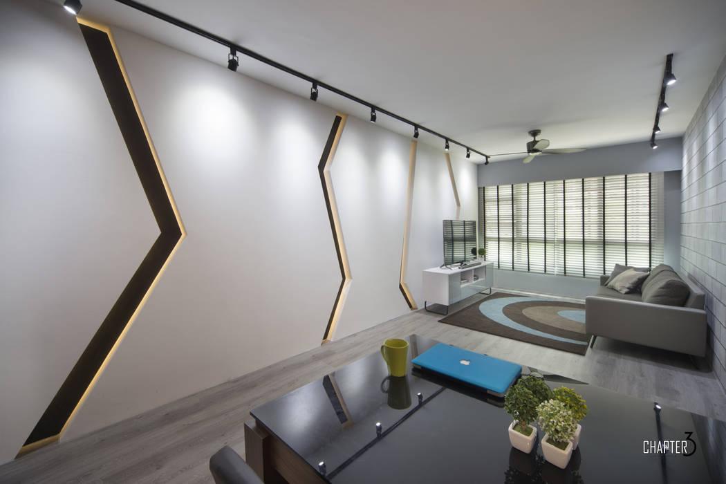 Living View Chapter 3 Interior Design Minimalist living room