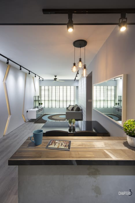 Dining View Minimalist dining room by Chapter 3 Interior Design Minimalist
