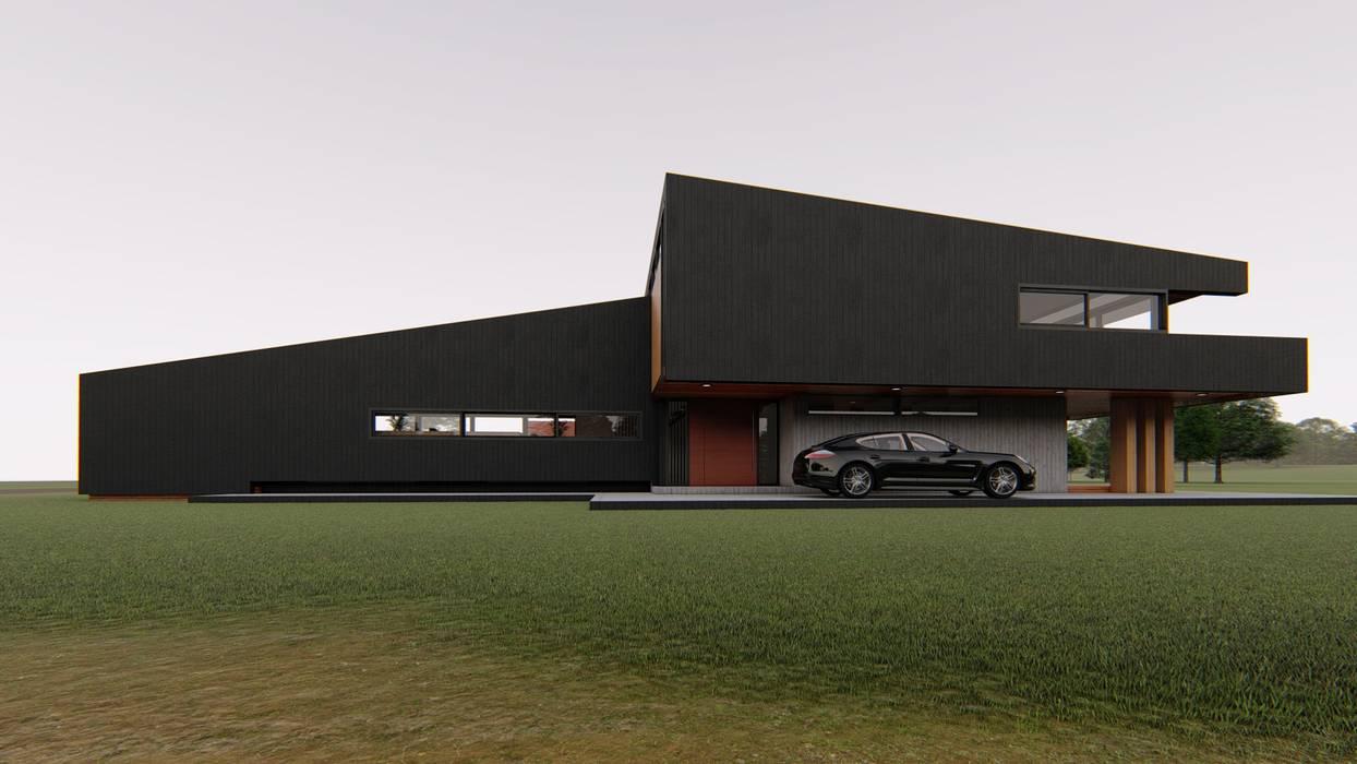 Casa PV1 Casas estilo moderno: ideas, arquitectura e imágenes de Elevarq Moderno