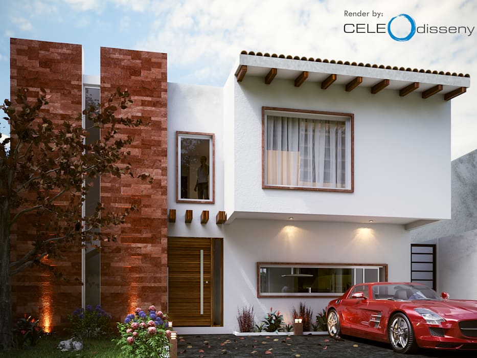Modern Houses by CELE interiorismo Modern
