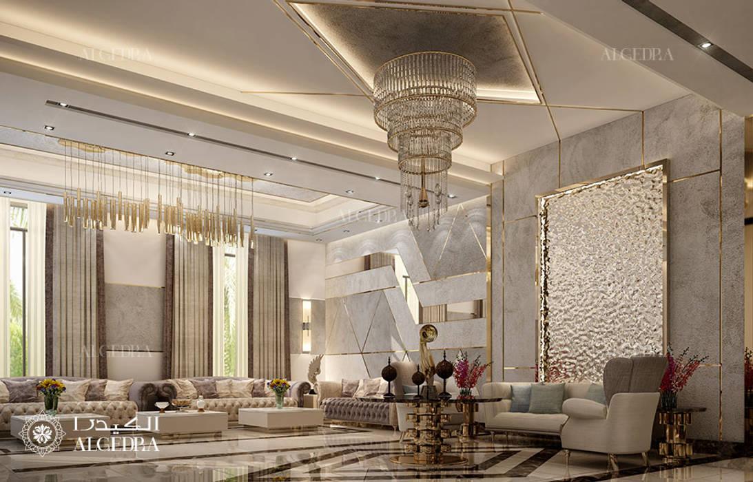モダンデザインの リビング の Algedra Interior Design モダン