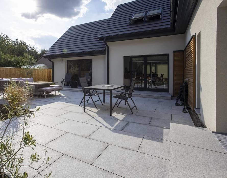 Granite Patio Paving Packs in Silver Grey, Light Grey by Stone Paving Direct Ltd Modern Granite