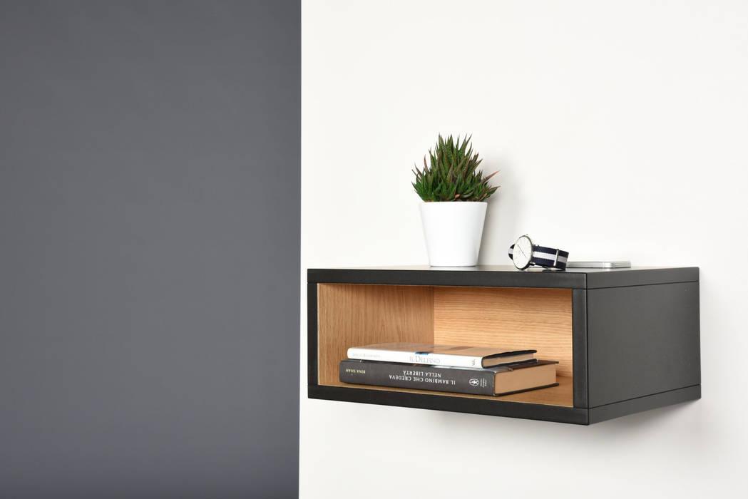 Ebanisteria Cavallaro Living roomSide tables & trays Engineered Wood Black