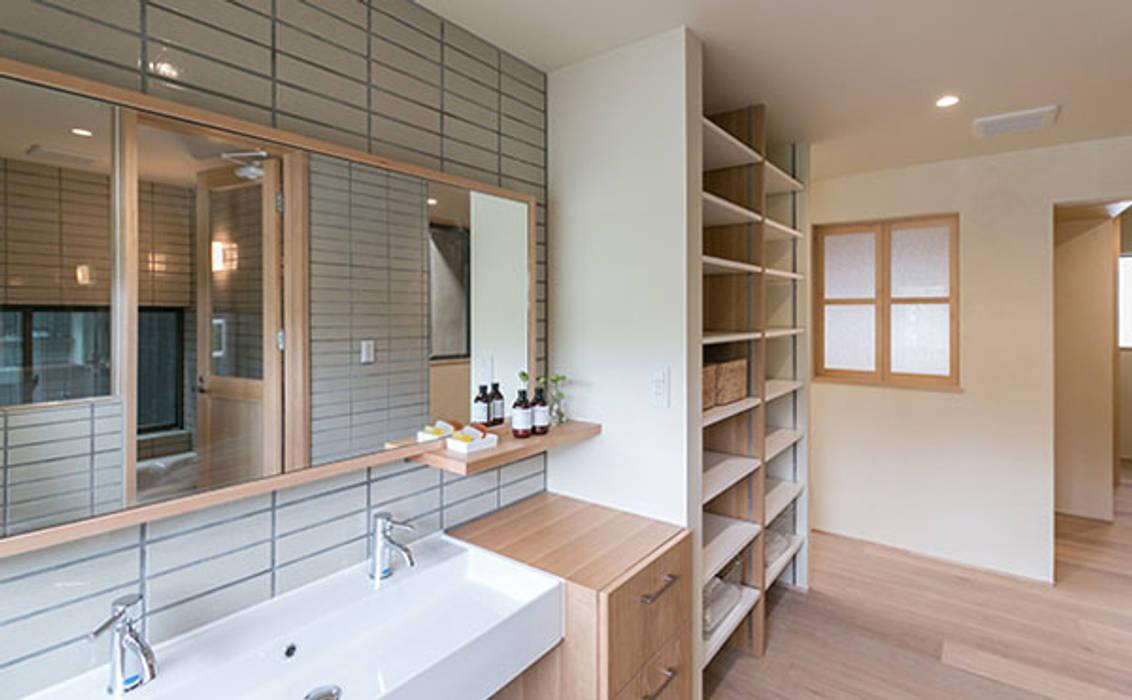 環アソシエイツ・高岸設計室 Asian style dressing room