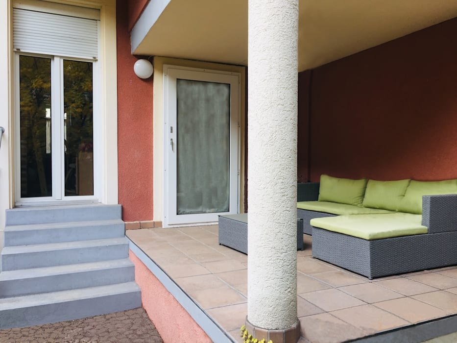 Studio di Architettura, Interni e Design Feng Shui Minimalist balcony, veranda & terrace