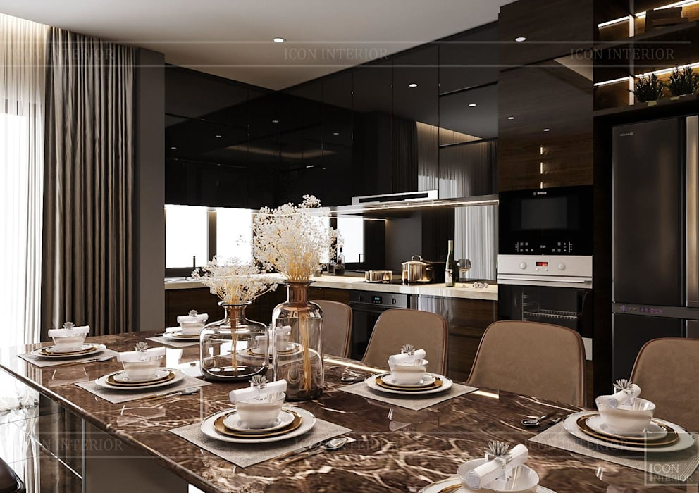 ICON INTERIOR Modern dining room