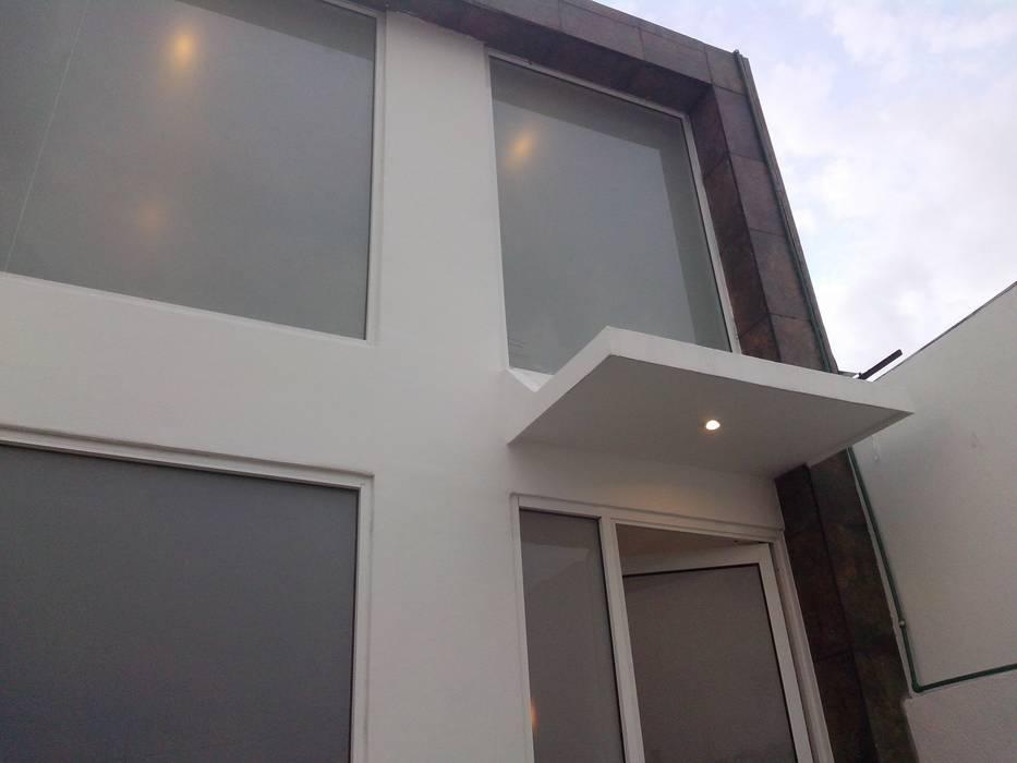 Fachada Loft de BG Tablaroca Acabados y Servicios Moderno Cerámico