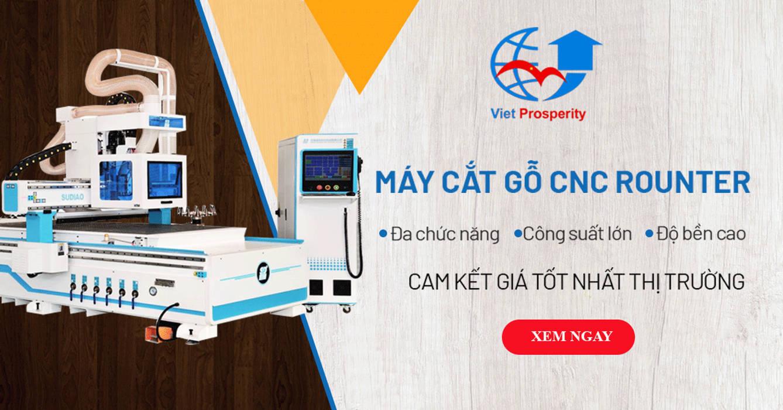 Máy cắt gỗ CNC Vườn phong cách hiện đại bởi Máy chế biến gỗ công nghiệp Việt Hưng Hiện đại