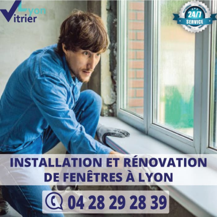 Installation et rénovation des fenêtres à Lyon by vitrier-Lyon Classic Glass
