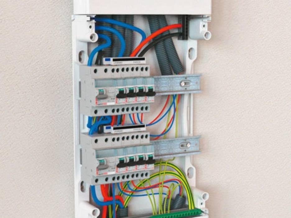 Réparation Tableau Électrique Anexos de estilo ecléctico de Electricien Lyonnais Ecléctico Cerámico