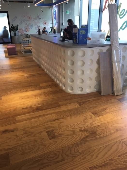 Tipos de Pisos para Interiores de Madera de SoHo Pisos de Madera Moderno
