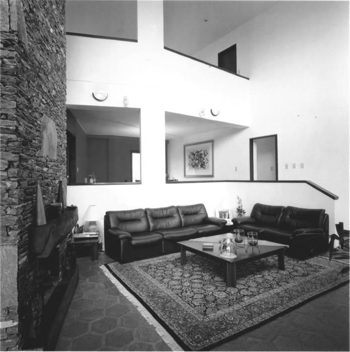 OMAR SEIJAS, ARQUITECTO Rustic style house