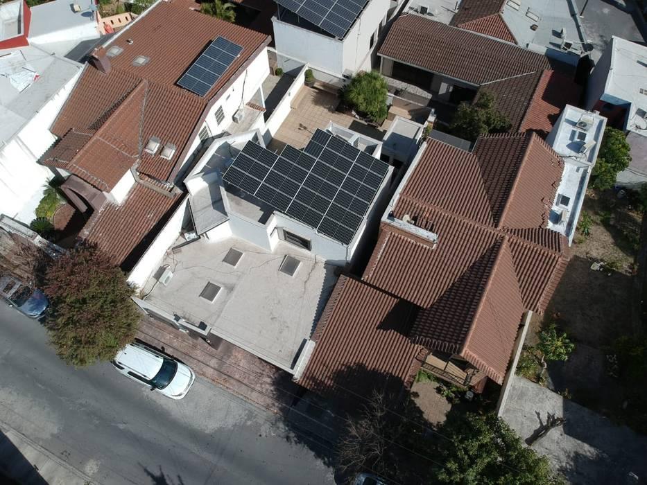 KB Solar Roof terrace Glass Blue