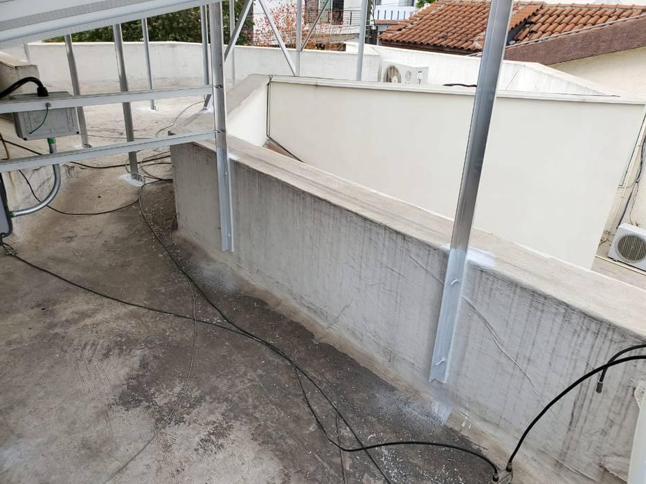 KB Solar Roof terrace Aluminium/Zinc Metallic/Silver