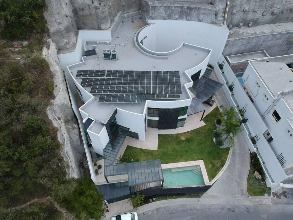KB Solar Roof terrace Aluminium/Zinc Blue