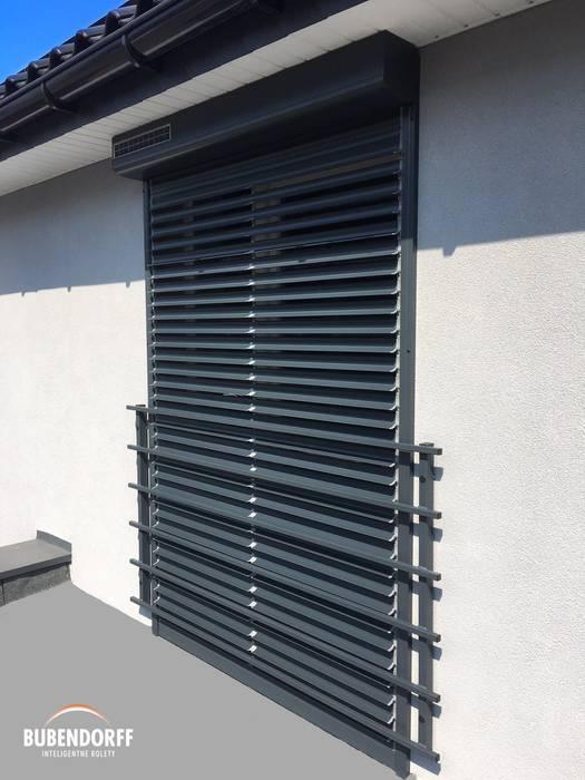 Rolety solarne BUBENDORFF Nowoczesne okna i drzwi od Inteligentne Rolety Bubendorff Nowoczesny Aluminium/Cynk