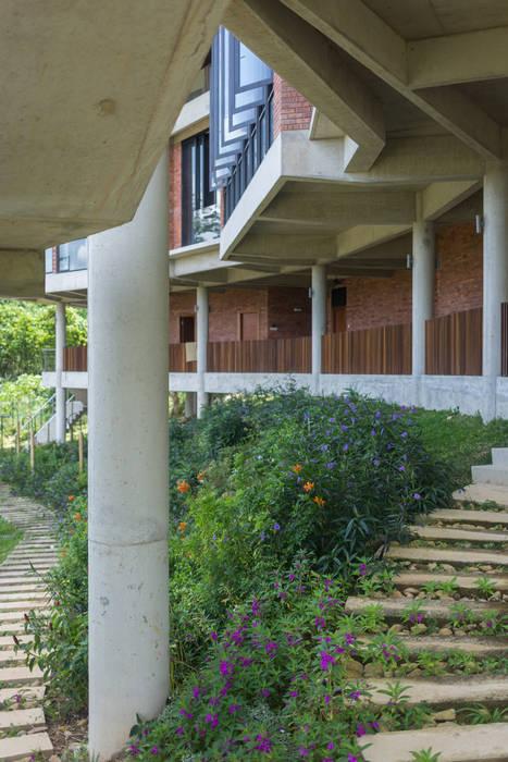 Garden MJ Kanny Architect Tropical style gardens