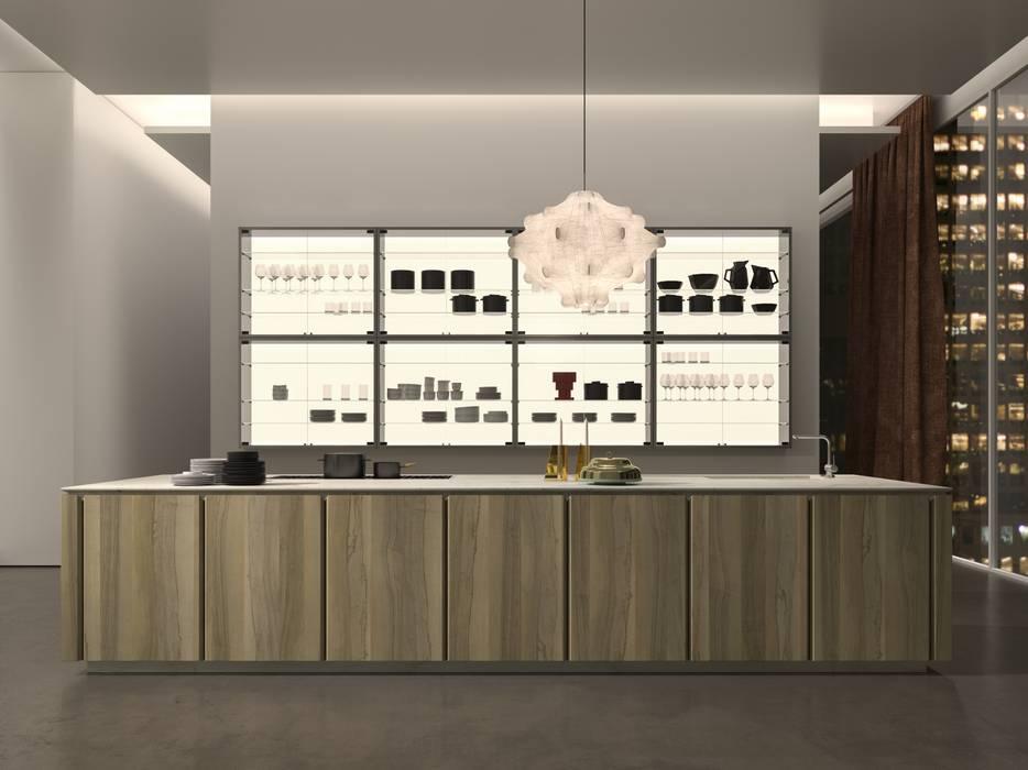 Kitchen Model - W75 Modern kitchen by Eurocasa Modern Wood Wood effect