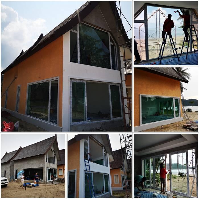 ร้าน ชัยดล ยูพีวีซี พัทยา ประตู - หน้าต่าง upvc Windows & doors Doors Plastic White