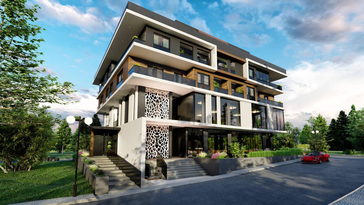 ANTE MİMARLIK Habitats collectifs