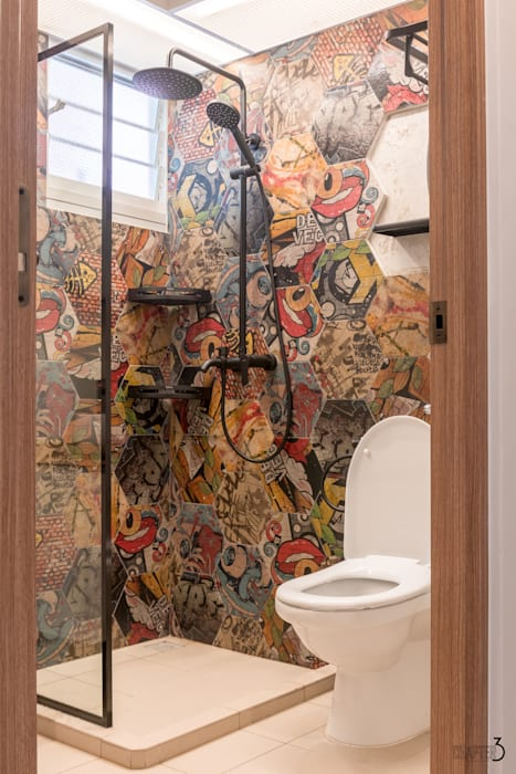Bathroom View Eclectic style bathroom by Chapter 3 Interior Design Eclectic