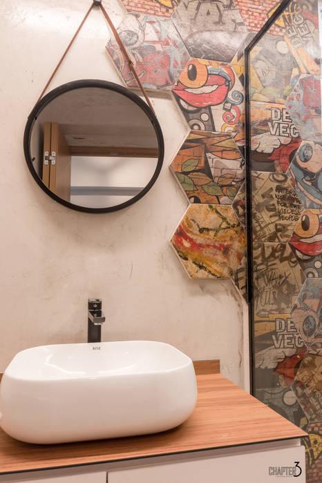 Bathroom Vanity view Chapter 3 Interior Design Eclectic style bathroom