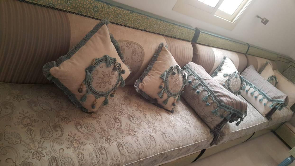 دينا نقل عفش 0563494024 Camera da letto piccola PVC Beige